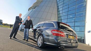 Mercedes E350 CDI Estate header