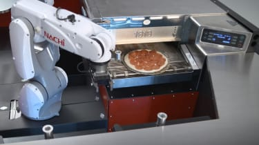 Toyota PIE Pro - pizza cooking