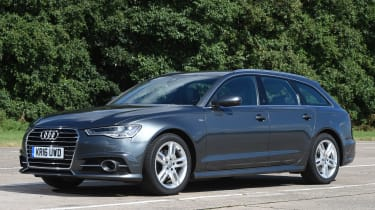 Audi A6 Avant - front quarter