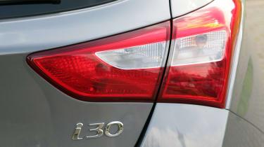 Used Hyundai i30 - rear lights
