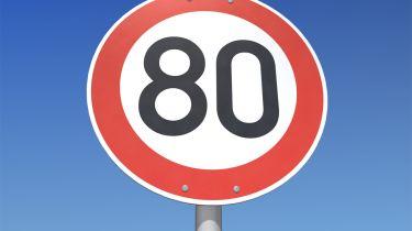 New 80mph speed limit