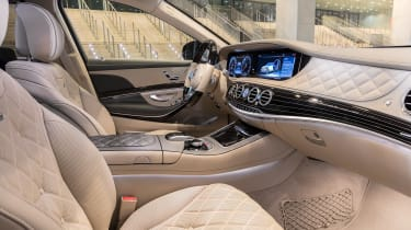 New Mercedes-Maybach S-Class - front seats