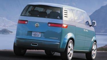 VW Microbus - rear