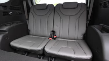 Hyundai Santa Fe - long-term first report back seats