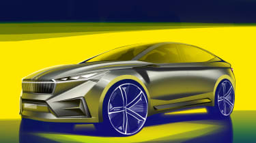 Skoda Vision iV concept - front