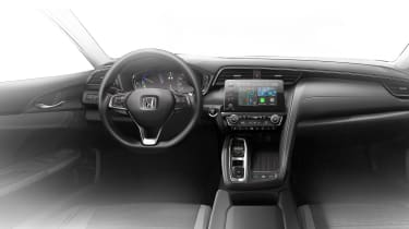2018 Honda Insight cabin