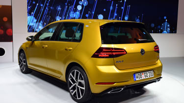 New 2017 Volkswagen Golf reveal - rear