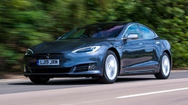 Tesla Model S - front tracking