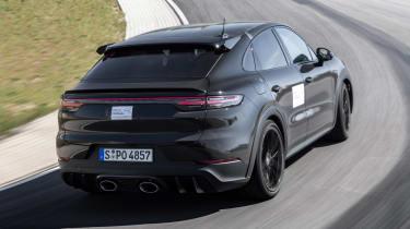 Porsche Cayenne Coupe prototype - rear cornering