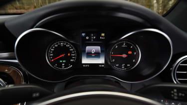 Mercedes GLC Coupe - speedo