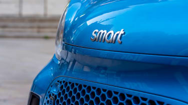 Smart EQ ForFour - front detail