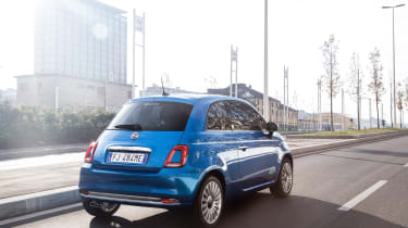 Fiat 500 Mirror special edition 2018 rear
