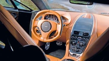 Aston Martin One-77 interior