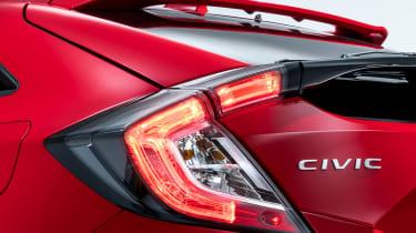 Honda Civic - rear detail