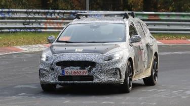 Ford Focus Estate Nurburgring front
