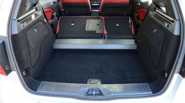 Mercedes B220 CDI 4MATIC Sport - boot seats folded