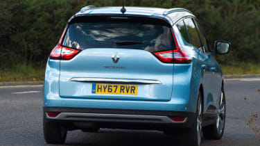 Renault Grand Scenic rear action