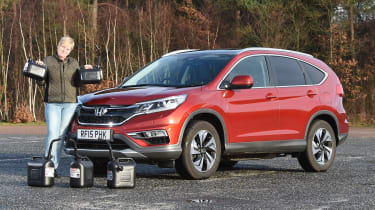 Honda CR-V long-termer - fuel