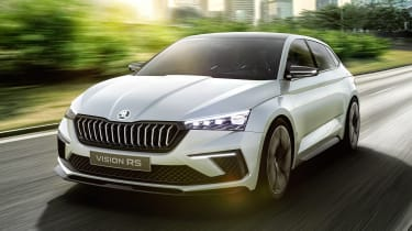Skoda Vision RS concept - front