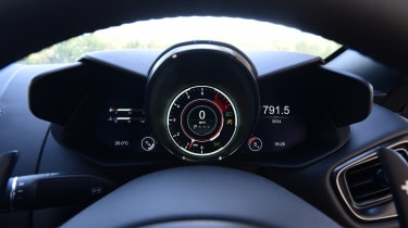 Aston Martin Vantage dials