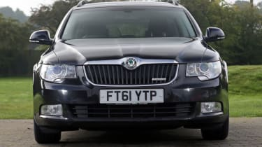 Used Skoda Superb front end