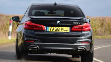 BMW 5 Series - rear cornering