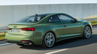 2019 Audi A5  - rear tracking