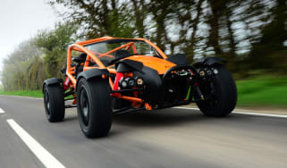 Ariel Nomad - front tracking