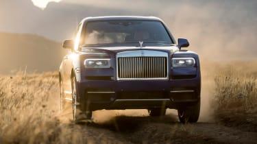 Rolls-Royce Cullinan - front off-road