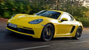 New Porsche Cayman GTS review - front quarter