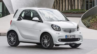 Smart ForTwo and ForFour Brabus static shot
