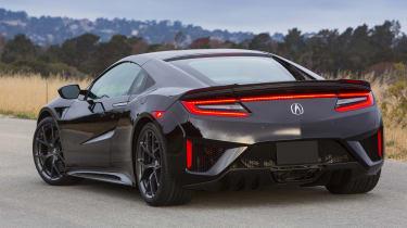 New Honda NSX 2015 rear static