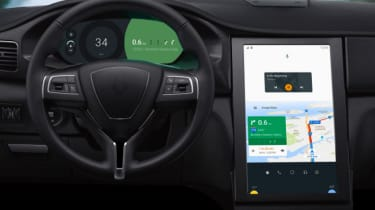Android N in-car interface 2