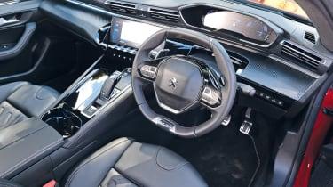 Peugeot 508 - cabin