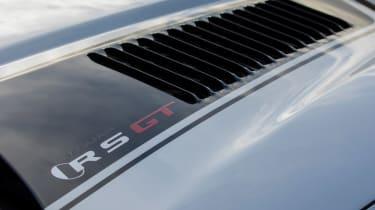 Jaguar XKR-S GT coupe bonnet