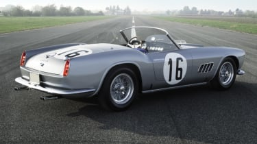 Ferrari 250 GT LWB California Spider Competizione - parked rear