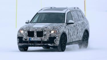 BMW X7 spies - front left