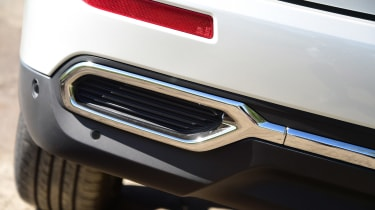 Renault Koleos - exhaust