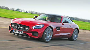 Mercedes-AMG GT S - front tracking