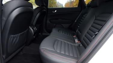 Kia Optima GT - rear seats