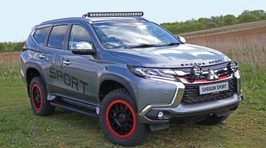 Mitsubishi Shogun Sport SVP Concept - front