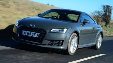 Audi TT Ultra - front tracking