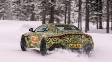 Aston Martin Vantage prototype - rear