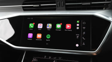 Audi A6 - Apple CarPlay