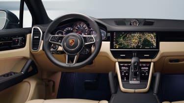 Porsche Cayenne - dash