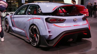 Hyundai RN30 Concept at Paris 2016 rear