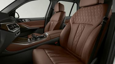BMW X5 plug-in hybrid - front seats