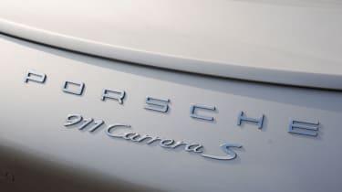 Porsche 911 Cabriolet badge