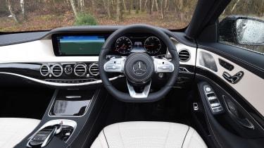 Mercedes S-Class - dash