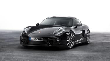 Porsche Cayman Black